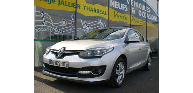 Garage Jallier Tharreau Garage Automobile Cholet Location Vehicule 9 Places MEGANE 1.5 DCI 110CV BUSINESS 291