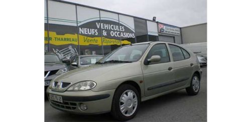 Garage Jallier Tharreau Garage Automobile Cholet Location Vehicule 9 Places MEGANE 1.9 DTI 100CV RXE 289
